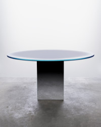 Glass, mirror Ø150 x 75 cm Limited edition of 8