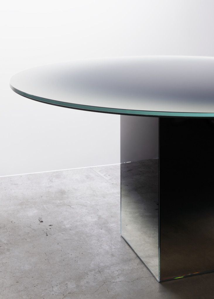BORIS BERLIN & GERMANS ERMIČS Glass, mirror Ø150 x 75 cm Limited edition of 8