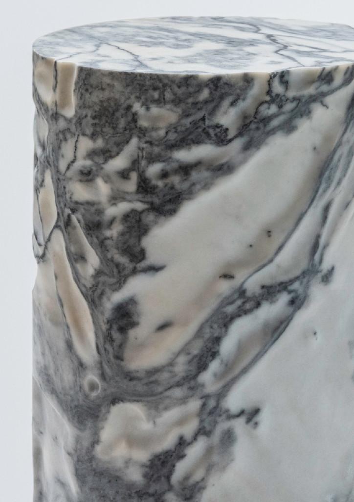 Pele de Tigre marble Ø35 x 50 cm Limited edition of 8