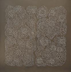 2021 Metal wire, paper pulp 200 x 200 cm Unique piece