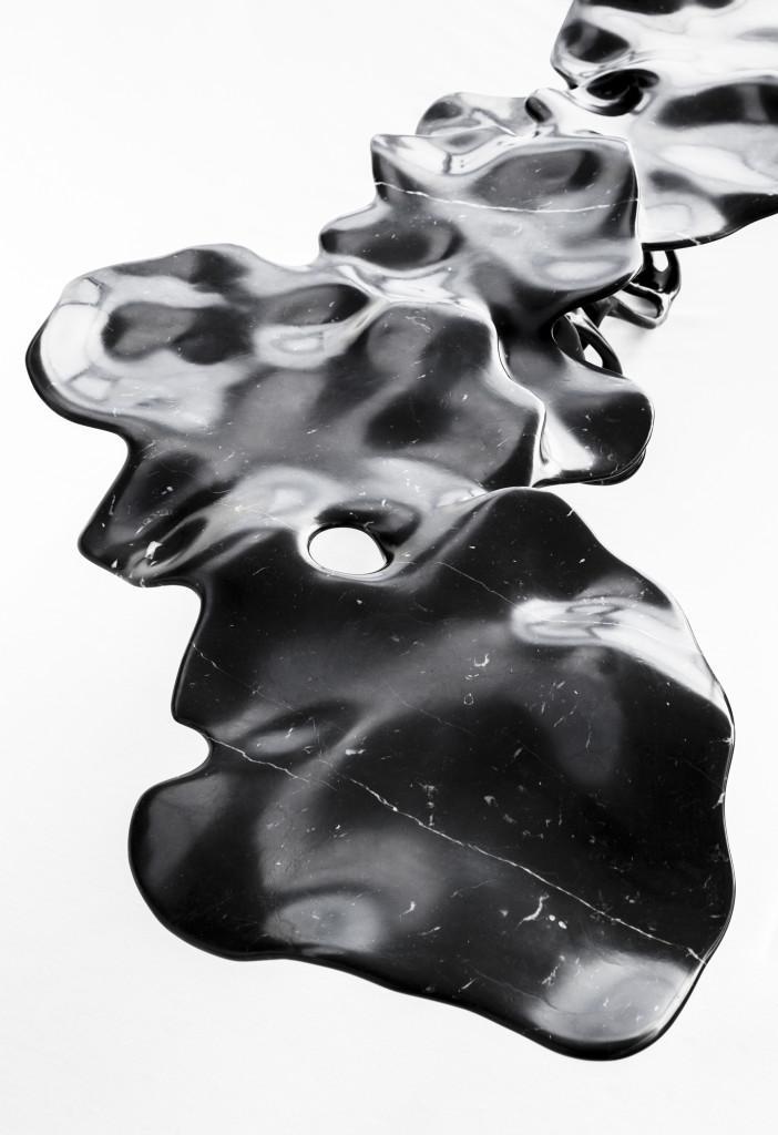 Detail 2021 Marble 188 x 96 x 40 cm Limited edition of 8 unique pieces + 4 AP